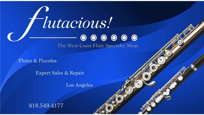 Flutacious, Flute, California